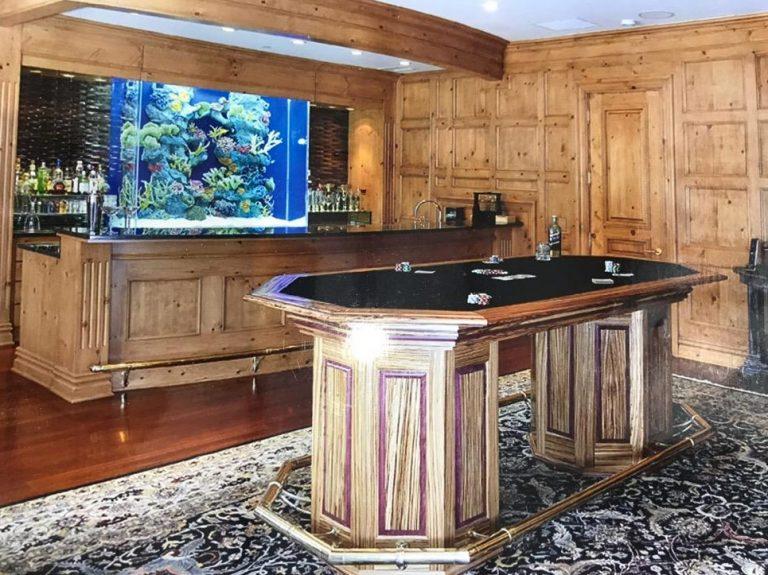 Kona Custom Cabinet Bar